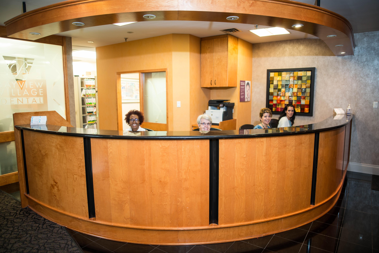 Bayview Village Dental Associates Reception